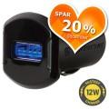 USB oplader til bil, enkelt - Spar 20 %