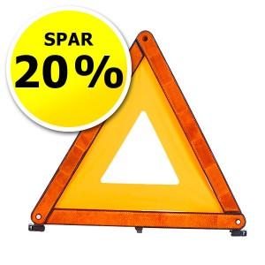 Advarselstrekant - tilbud