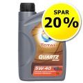 Motorolie Quartz 9000, 5w40 - Spar 20 %