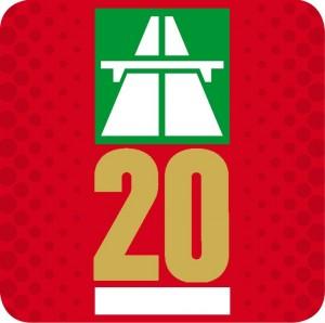 Vignette Schweiz 2020 - Motorvejsmærkat