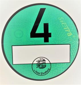 Tyske Miljøzonemærker - Grønt miljømærke(Euro 4)