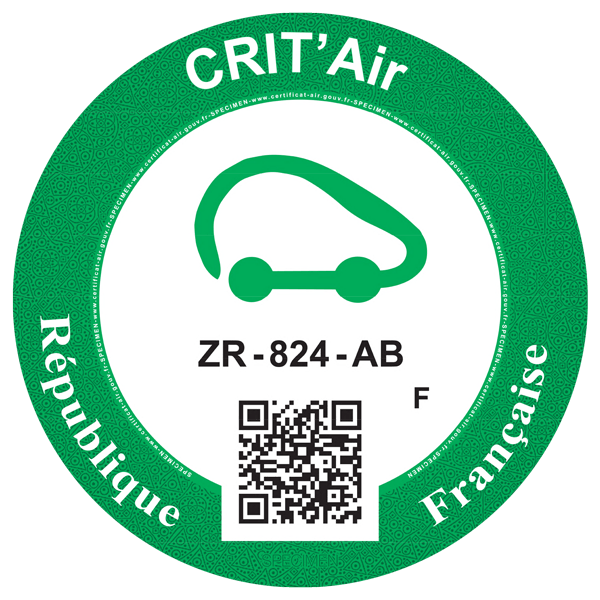 crit air 0 groen