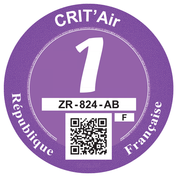 crit air 1 lilla