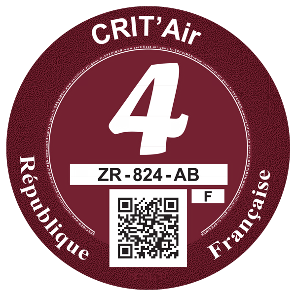 crit air 4 bordeaux