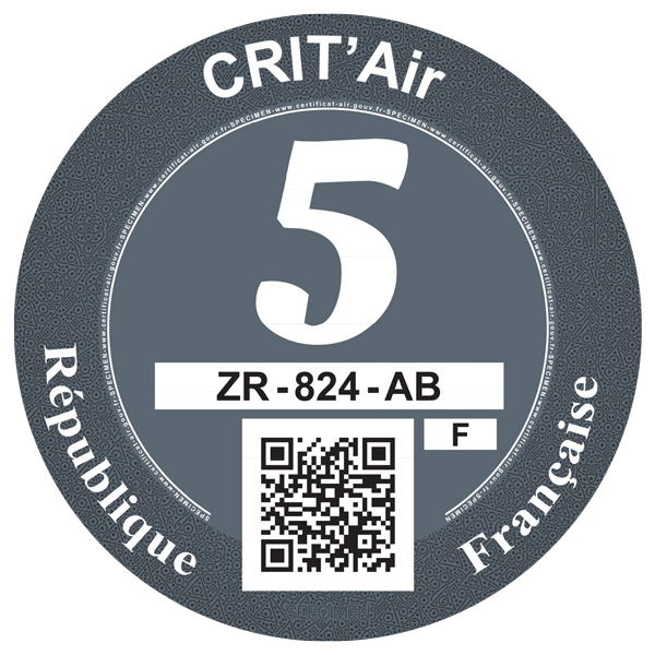 crit air 5 graa