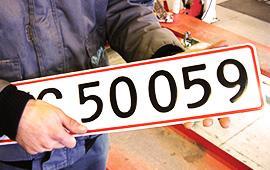 4 gode råd før du kører efter nummerplader