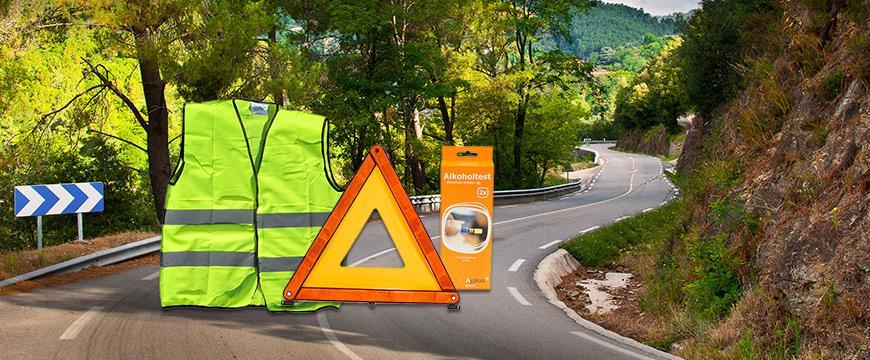 Sikkerhedsudstyr på kør-selv-ferien