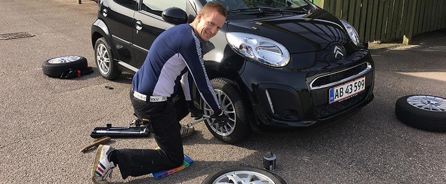 Skift selv hjul på bilen - Applus Bilsyn