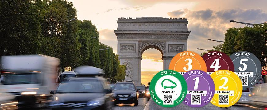 Franske miljøzonemærker