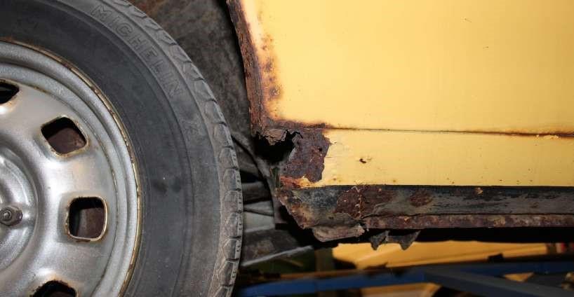 """Farlig rust: """"Kan blokere hjulene under kørsel"""""""